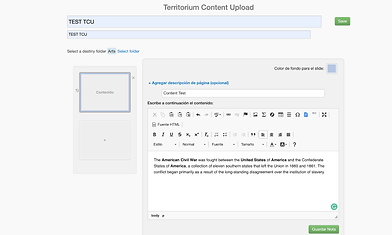 Create and Curate Learning Experiences with Territorium life