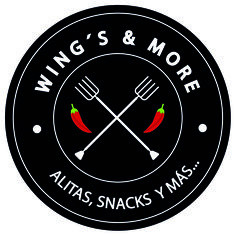Wings & More - Creación de Logotipo