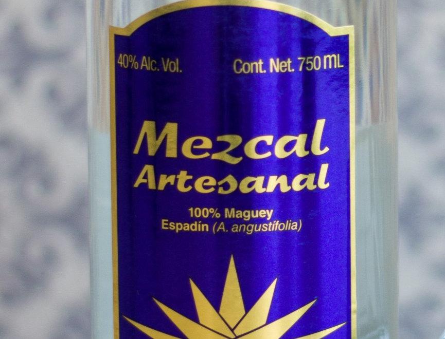 CAJA DE MADERA MEZCAL JOYA AZUL JOVEN