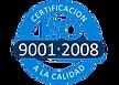 Territroium life have a certificacion-ISO2008