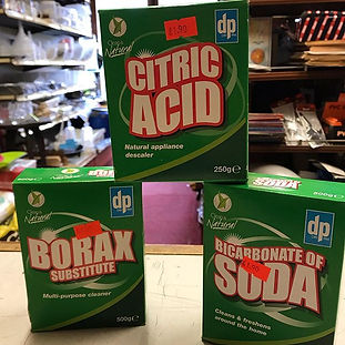 We've also got borax substitute and bica