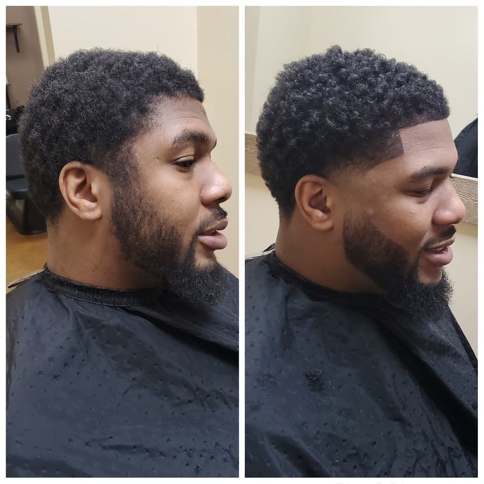 Natural Fade and Line up, CJ