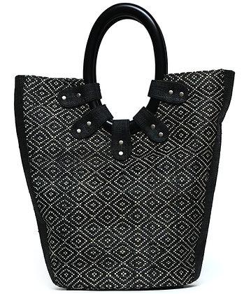 Lady in Black Bag