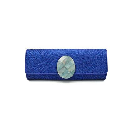 Sunset Cocktail Clutch Bag - Ocean Blue