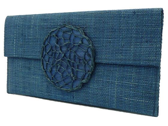 Blue Dream Catcher Clutch Bag
