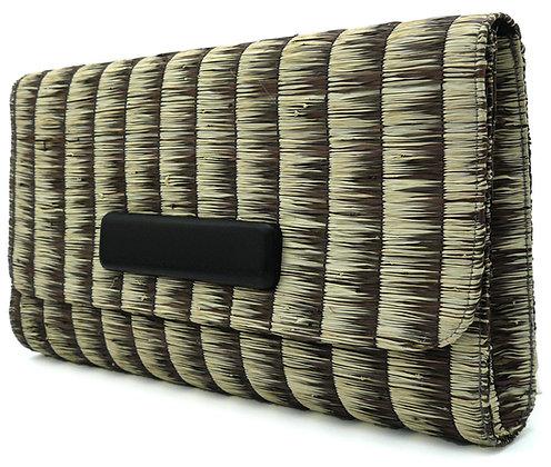 Blurry Brown Clutch Bag