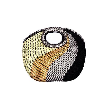 Black Wavy Basket