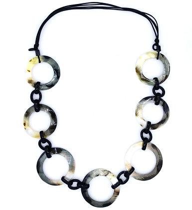 Blacklip Rings Necklace