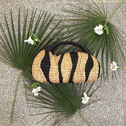 The Swan Handbag - Zebra