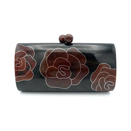 Roses Shell Evening Bag