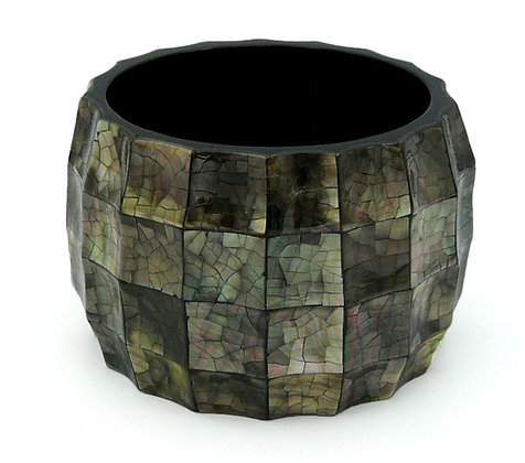 Squares Mother of Pearl Bangle