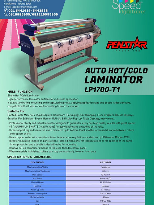 Automatic Hot and Cold Laminator with Pump and Cutter