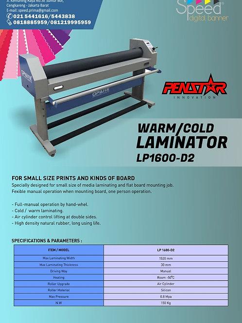 Manual Warm and Cold Laminator