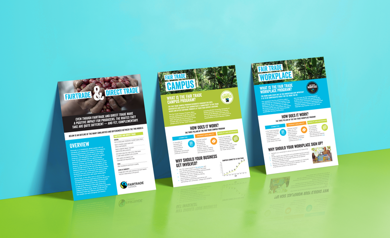 Fairtrade Canada Fact Sheets