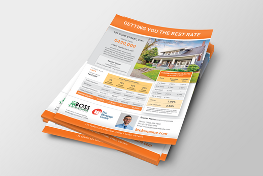 Boss Mortgages Real Estate Flyer
