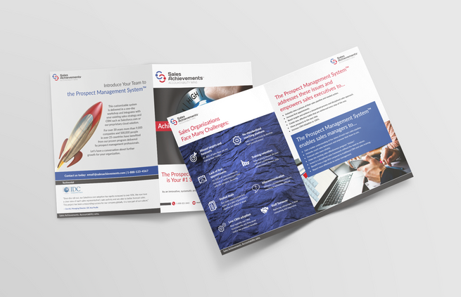 Sales Achievements Promo Brochure