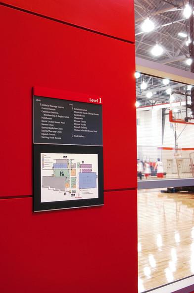 Carleton University Directory Signage