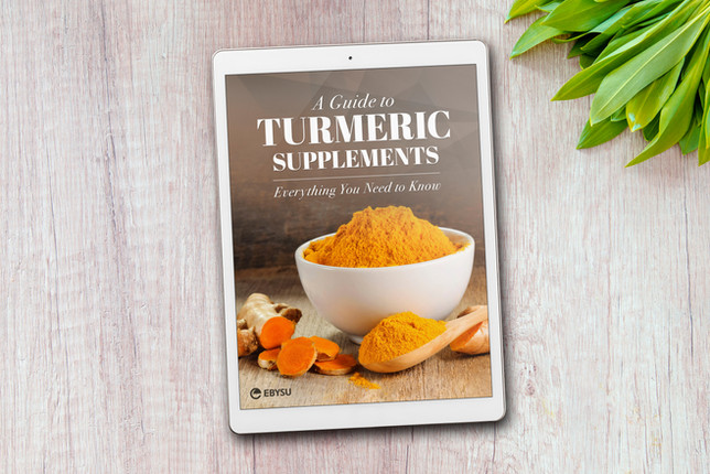 EBYSU Turmeric Supplements eBook