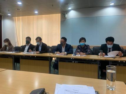 貿易投資促進局與勞工局會談