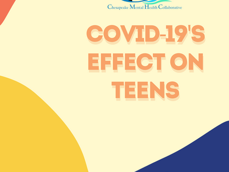 Covid 19's Effect on Teens (Infographic)