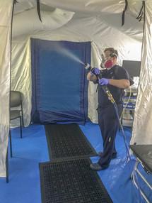 Covid Triage Tent