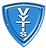 Vytis Shield white on blue.png