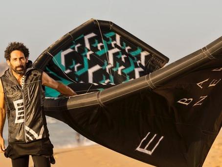 Renzo Mancini, l'ex campione di kitesurf che trasforma gli aquiloni in abiti di alta moda