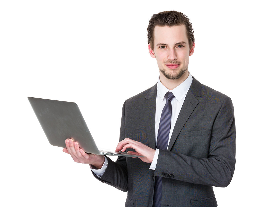 young-business-man-using-laptop-AQNBV4S.
