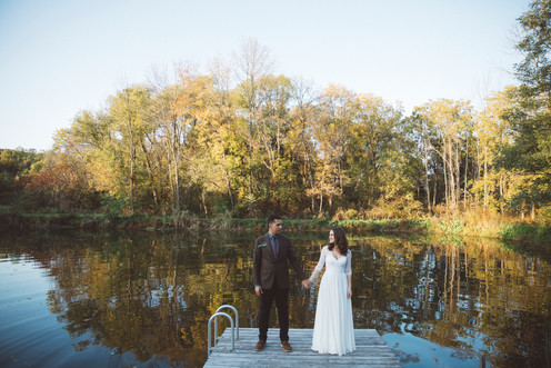 Sarah + Brandon by Laura Dart Photography