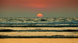 Закат в Гоа Goa sunset