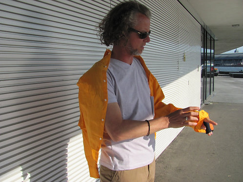 overhemd linnen geel