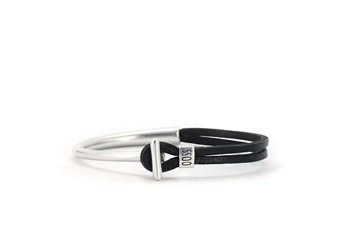 Qoss Viev Armband zwart
