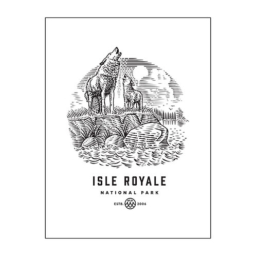 Isle Royale Poster