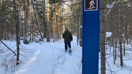 Pictured Rocks National Lakeshore Opens a New Snowshoe Trail