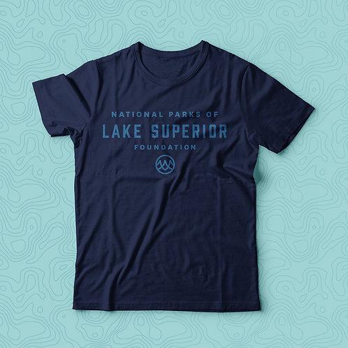 Navy Lake Superior T-Shirt