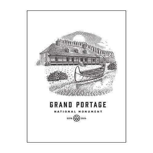 Grand Portage Poster