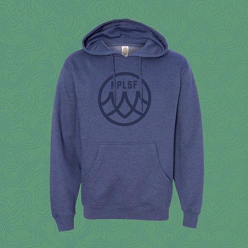 Blue Hoodie Sweatshirt - NPLSF Logo