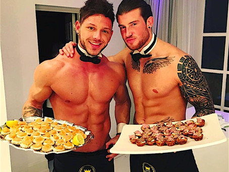 Topless Waiters Option for Hen Parties