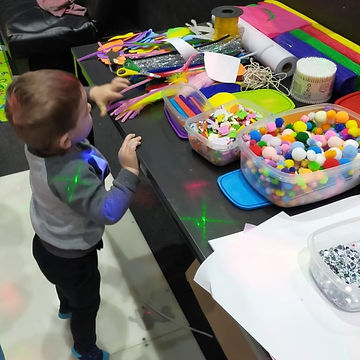 Paint party for all ages
