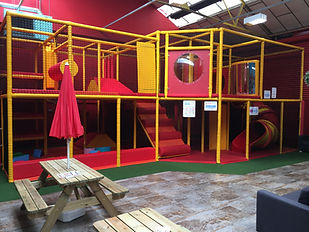Multi level soft play