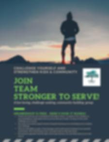 Team Stronger to Serve Details