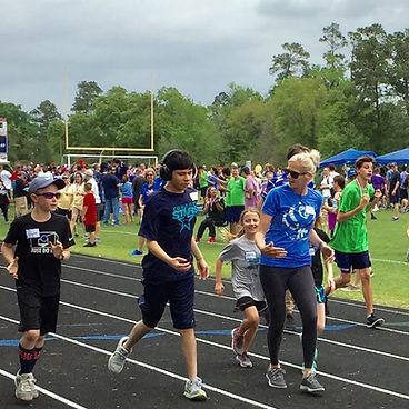 Special Olympics track meet