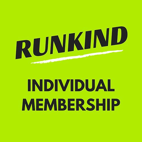 Individual RunKind Annual Membership
