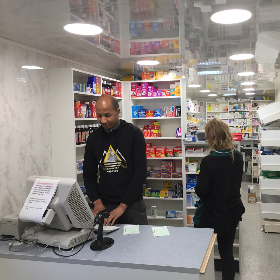 12M Portable Pharmacy in action
