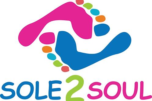 Sole 2 Soul Mission COLOR Logo Short Sleeve WHITE T-shirt