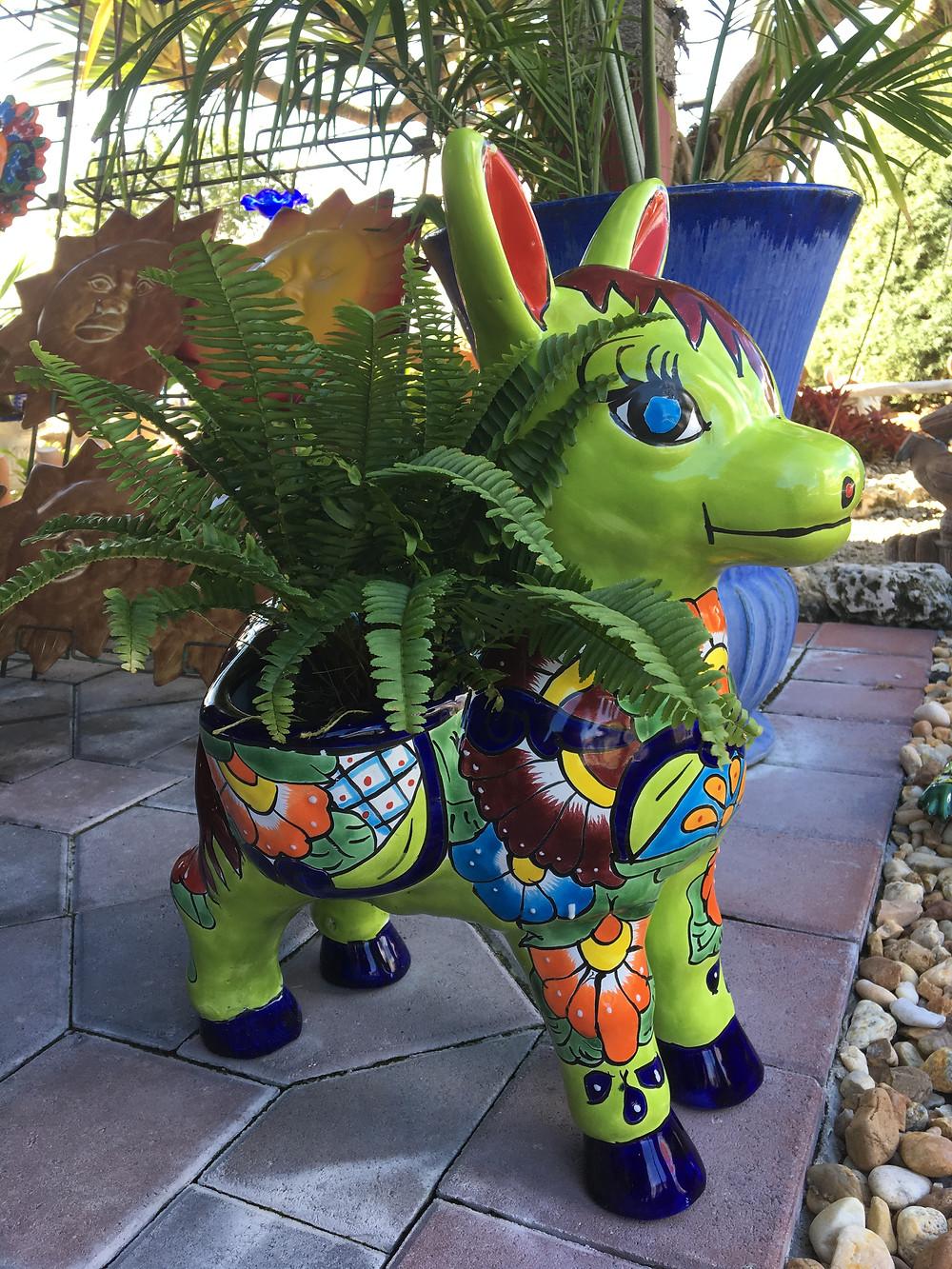 Talavera Donkey