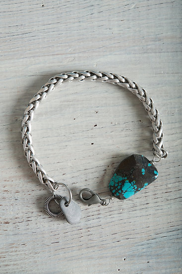 Antique Silver & Turquoise