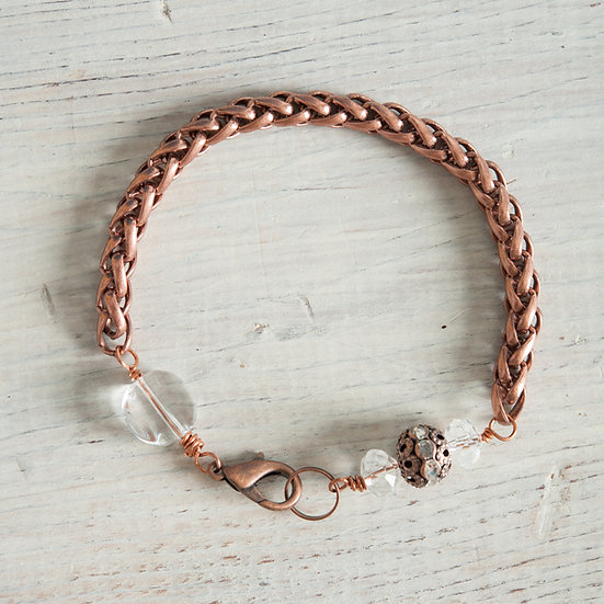 Antique Copper & Sparkle