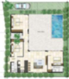 Floorplan Villa White Orchid