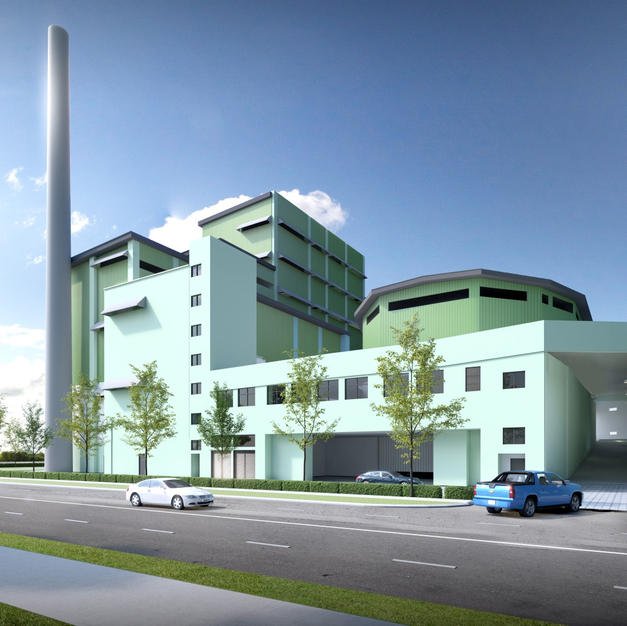 Recycling Plant And A 2 Sty Waste Sorting Facility Building At Tuas South Street 15